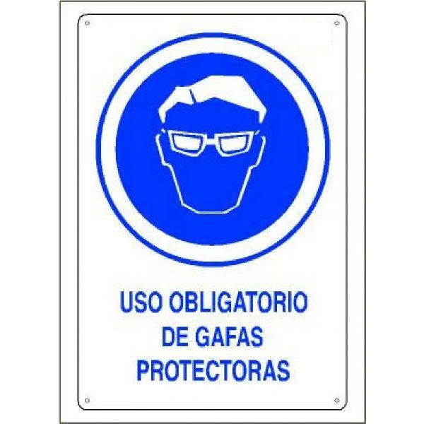 CARTEL OBLIGATORIO GAFAS 210x297mm.