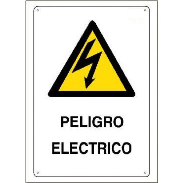 CARTEL RIESGO ELECTRICO 210x297mm.