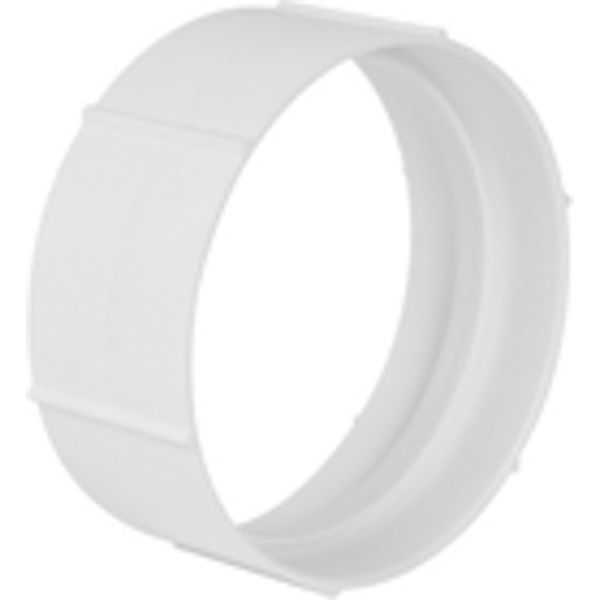 MANGUITO PVC BLANCO REDONDO 120mm.