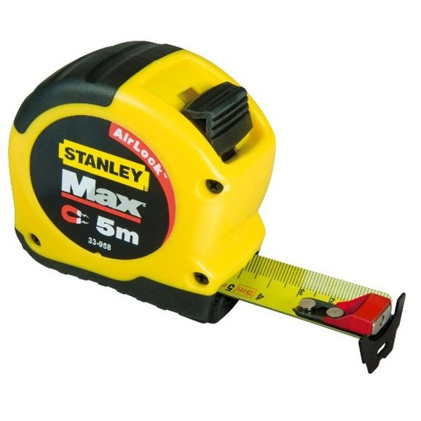 METRO STANLEY MAX MAGNETICO 5m. (28mm.)