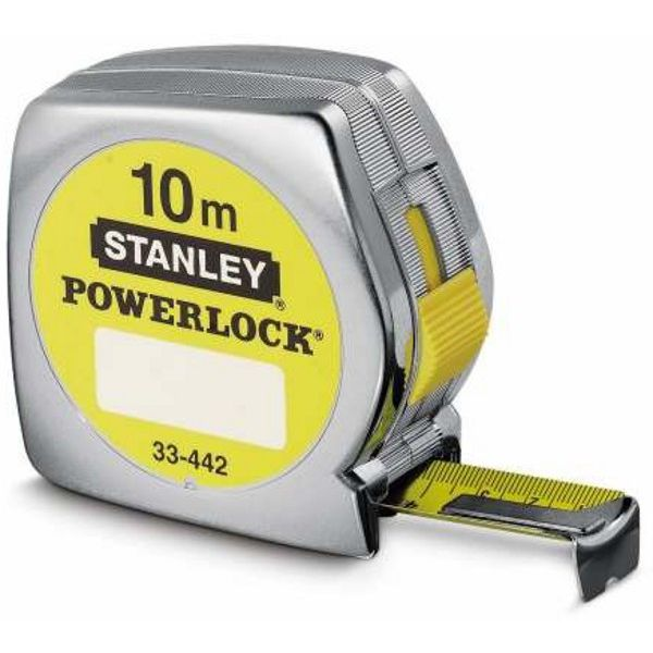 METRO STANLEY POWERLOCK 10m. (25mm.)
