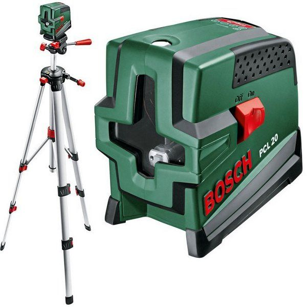 NIVEL LASER BOSCH PCL 20 SET