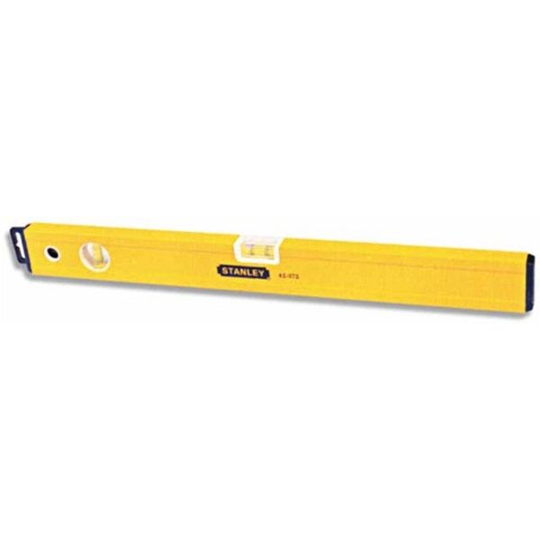 NIVEL STANLEY CLASSIC TUBULAR AMARILLO 100mm.